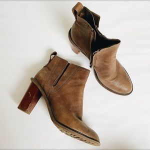 Clarks Leather Booties